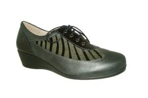zapato-casual-mujer-piel-combinada-negro-gris-decorado-pelo-cebra-cuna-plantilla-extraible-cordones-argenta