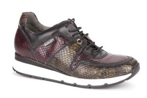 zapato-mujer-combina-tres-pieles-serpiente-lkgreen-black-garnet-mundaka-piso-grueso-blanco-pikolinos