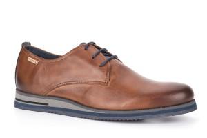 zapato-hombre-plantilla-extraible-piel-cuero-combinado-azul-cordones-leon-plano-pikolinos